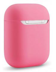 Чохол для Airpods силіконовий (рожевий)