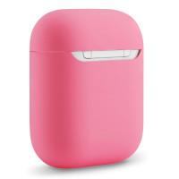 Чехол для Airpods силиконовый (розовый)