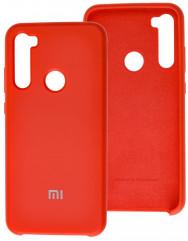 Чехол Silky Xiaomi Redmi Note 8T (красный)
