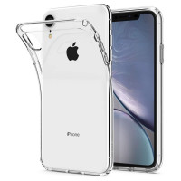 Чехол cиликоновый iPhone XR (прозрачный)