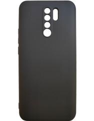 Чехол Silicone Case Lite Xiaomi Redmi 9 (черный)