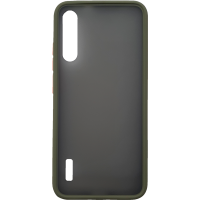 Чехол LikGus Maxshield матовый Xiaomi Mi A3/CC9e (хаки)