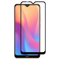 Стекло Xiaomi Redmi 8/8a (5D Black) 0.33mm