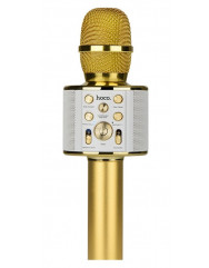 Безпровідний мікрофон караоке Hoco BK3 Cool (Gold)