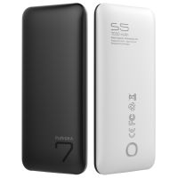 PowerBank Puridea S5 7000mAh Li-Pol (Black/White)