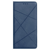 Книга Business Leather Xiaomi Redmi 9 (синий)