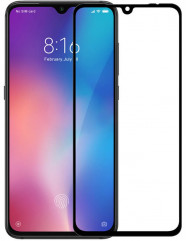 Скло матове Xiaomi Mi 9 (9D Black) 0.39mm
