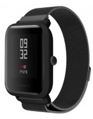 Ремешок для Xiaomi Amazfit Milanese Loop 20-22mm (Black)