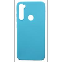 Чехол Soft Touch Xiaomi Redmi Note 8 (голубой)
