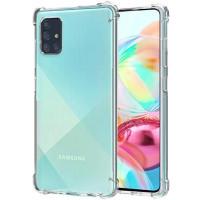 Чехол усиленный для Samsung Galaxy A71 (прозрачный)