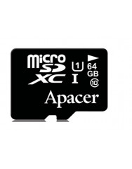 Карта памяти Apacer micro SD 64gb (10cl)