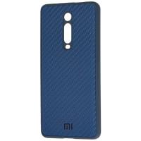 Чехол Premium Carbon Xiaomi Mi 9T / Mi 9T Pro (синий)