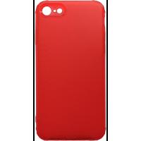 Чехол усиленный матовый iPhone 7/8 (красный)