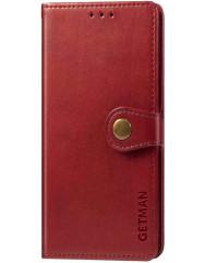 Книга Getman  Xiaomi Poco X3 / Poco X3 Pro (червоний)