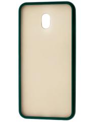 Чохол LikGus Maxshield матовий Xiaomi Redmi 8a (темно-зелений)