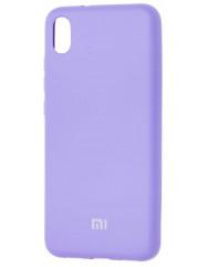 Чохол Silicone Case Xiaomi Redmi 7a (лавандовий)