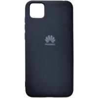 Чехол Silicone Case для Huawei Y5p (черный)