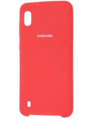 Чохол Silky Samsung Galaxy A10 (червоний)