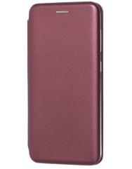 Книга Premium Samsung Galaxy A20/A30 (бордовий)