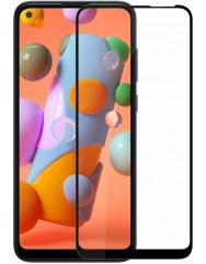 Скло Samsung Galaxy A11 (5D Black)