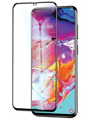 Скло Samsung Galaxy A20s (5D Black)