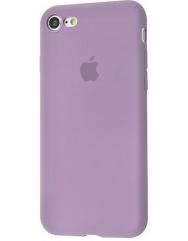 Чохол Silicone Case iPhone 7/8/SE 2020 (лавандовий)