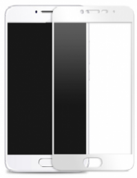 Защитное стекло для Meizu M5 (3D White)