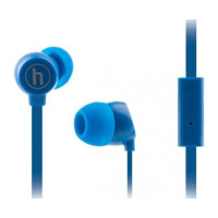 Вакуумные наушники-гарнитура Hapollo HS-1010 (синый)