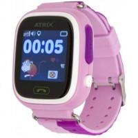 Смарт-часы детские ATRIX SW IQ400 Touch GPS (Pink)