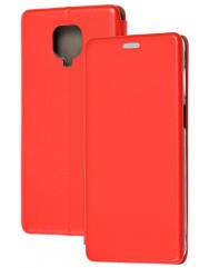 Книга Premium Xiaomi Redmi Note 9s/Note 9 Pro (красный)