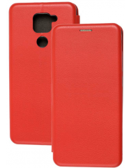 Книга Premium Xiaomi Redmi Note 9 (красный)