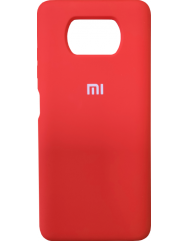 Чохол Silicone Case Xiaomi Poco X3 / Poco X3 Pro (червоний)