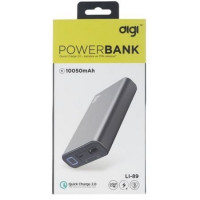 PowerBank DIGI LI-89 QC 2.0 (10050 mAh) (черный)