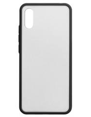 Чехол LikGus Maxshield матовый Xiaomi Redmi 9a (черный)
