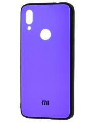 Чехол Glass Case Mi Xiaomi Redmi Note 7 (фиолетовый)