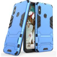 Чехол Skilet Xiaomi Redmi Note 6 pro (синий)