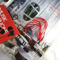 Вакуумные наушники гарнитура Earphone ML-16 (Red)