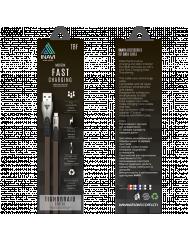 Кабель Inavi Micro USB JEANS (TBF) (черный)