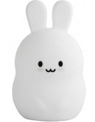 Силиконовая светодиодная лампа Colorful Silicone Rabbit