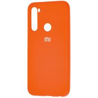 Чехол Silicone Case Lite Xiaomi Redmi Note 8 (оранжевый)