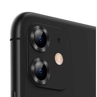 Гибкое ультратонкое стекло Epic на камеру Apple Iphone 11 (Black)