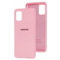 Чехол Silicone Case Samsung Galaxy A31 (розовый)