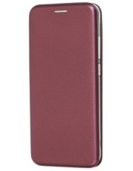 Книга Premium Xiaomi Redmi 8 (бордовый)