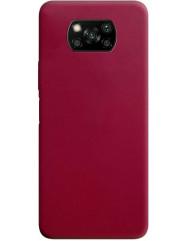 Чохол Candy Xiaomi Poco X3 / Poco X3 Pro (бордовий)