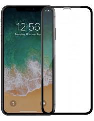 Стекло Apple iPhone XR (5D Black) 0.33mm