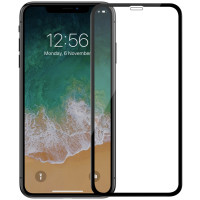 Стекло Apple iPhone XR (6D black)