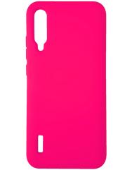 Чохол Silicone Case Xiaomi Mi A3 (яскраво-рожевий)