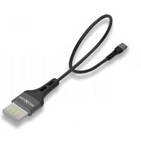 Кабель Moxom MX-CB07 micro USB 0.2m (черный)
