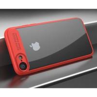 Чехол-накладка Auto Focus iPhone 7 (красный)
