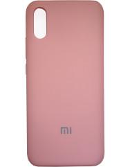 Чехол Silky Xiaomi Redmi 9a (персик)
